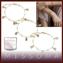 MISSOMA Costume Jewelry Casual Style Blended Fabrics Chain Handmade