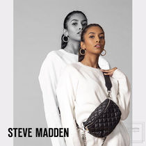 Steve Madden Casual Style 3WAY Chain Plain Elegant Style Hip Packs