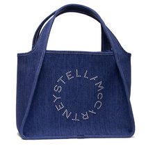 Stella McCartney Casual Style Denim Co-ord Logo Totes