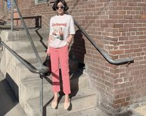 Casual Style Street Style Plain Cotton Long Party Style