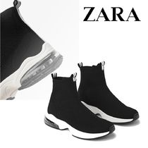 ZARA Casual Style Street Style Plain Low-Top Sneakers