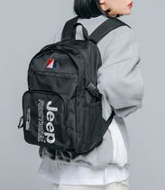 JEEP Casual Style Unisex Street Style Backpacks