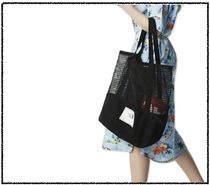 THE NORTH FACE WHITE LABEL Casual Style Unisex Street Style Totes