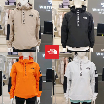 THE NORTH FACE WHITE LABEL Short Casual Style Unisex Nylon Blended Fabrics Street Style