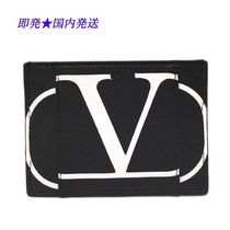 VALENTINO Leather Card Holders