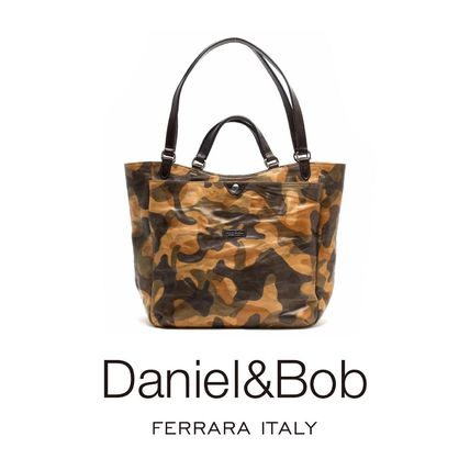 Camouflage 2WAY Totes