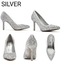 Katy Perry Plain Pin Heels Party Style Elegant Style Bridal