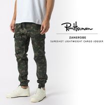 Ron Herman Camouflage Unisex Street Style Cotton Joggers & Sweatpants