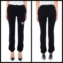 Y-3 Casual Style Street Style Glitter Skinny Pants