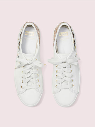 kate spade new york Low-Top Plain Leather Low-Top Sneakers 14