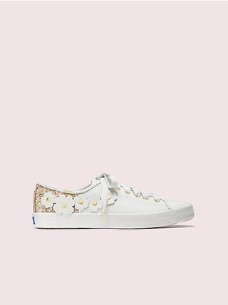 kate spade new york Low-Top Plain Leather Low-Top Sneakers 15