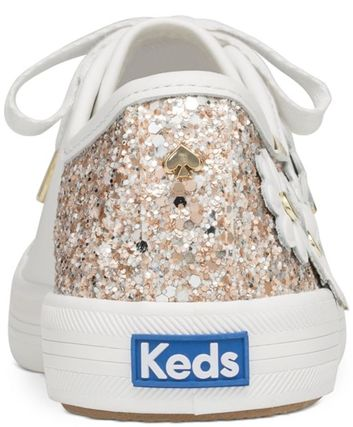 kate spade new york Low-Top Plain Leather Low-Top Sneakers 9
