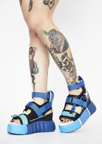 DOLLS KILL Open Toe Platform Casual Style Platform & Wedge Sandals