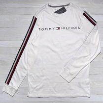 Tommy Hilfiger Long Sleeves Cotton Logos on the Sleeves Long Sleeve T-shirt