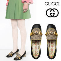 GUCCI Flower Patterns Casual Style Elegant Style Logo
