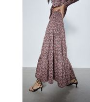 ZARA Medium Midi Skirts
