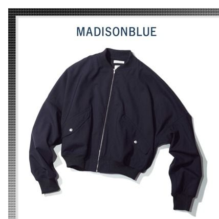 Short Plain MA-1 Bomber Jackets