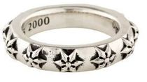 CHROME HEARTS STAR Star Unisex Street Style Silver Rings