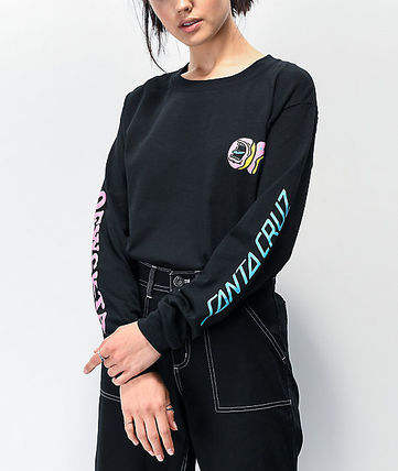 Street Style Collaboration Long Sleeves Long Sleeve T-shirt