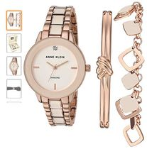 Anne Klein Casual Style Round Party Style Quartz Watches