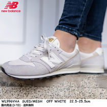 New Balance 996 Rubber Sole Casual Style Unisex Suede Street Style Plain
