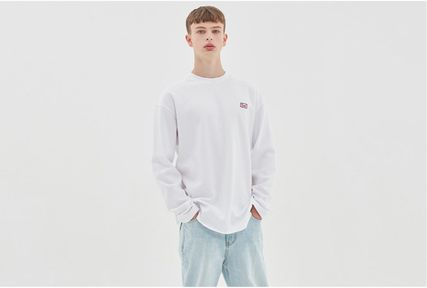 Crew Neck Street Style Long Sleeves Oversized
