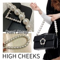 HIGH CHEEKS Casual Style Party Style Elegant Style Bags