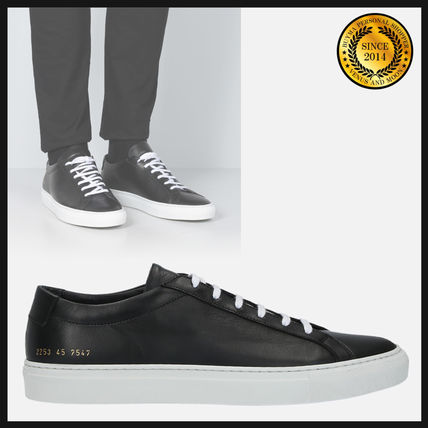 Bi-color Leather Sneakers