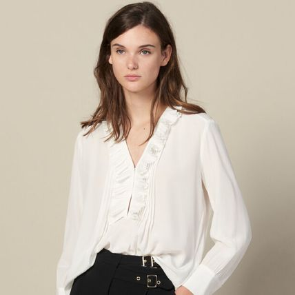 Short Casual Style Plain Party Style Elegant Style Cropped