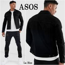 ASOS Denim Street Style Plain Denim Jackets Jackets