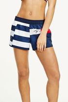 Tommy Hilfiger Short Casual Style Street Style Bi-color Logo Shorts
