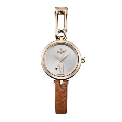 Vivienne Westwood Casual Style Round Quartz Watches Formal Style  Bridal