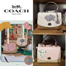 Coach Monogram Casual Style 2WAY Plain Other Animal Patterns