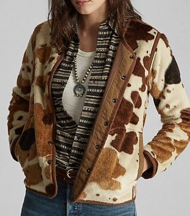 Short Other Animal Patterns Jackets