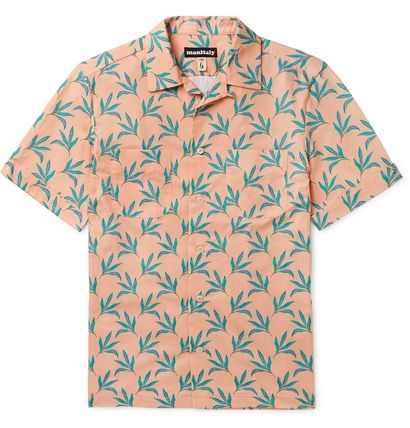 Flower Patterns Tropical Patterns Street Style Cotton