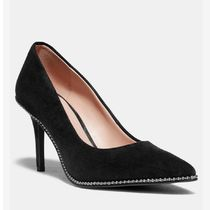 Coach Plain Pin Heels Party Style Office Style