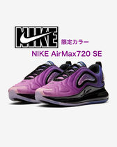 Nike AIR MAX 720 Unisex Blended Fabrics Street Style Low-Top Sneakers
