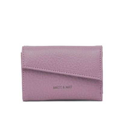 Monogram Unisex Faux Fur Plain PVC Clothing Folding Wallet