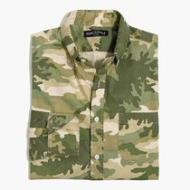 J Crew Camouflage Long Sleeves Shirts