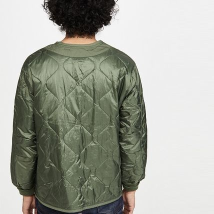 Short Street Style Plain MA-1 Military Bomber Jackets