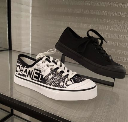 Shop CHANEL 2020 SS Logo Sneakers by