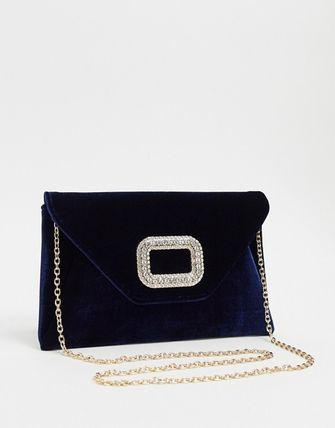 ASOS 2WAY Chain Plain Party Style Elegant Style Crossbody