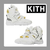 KITH NYC Blended Fabrics Leather Shoes