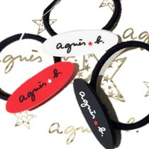 Agnes b Bangles Unisex Blended Fabrics Hair Accessories