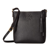 Tory Burch Casual Style Tassel Bi-color Plain Leather Elegant Style