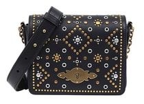 POLO RALPH LAUREN Studded 2WAY Leather Party Style With Jewels Elegant Style