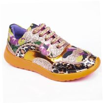 Irregular Choice Lace-up Casual Style Faux Fur Street Style