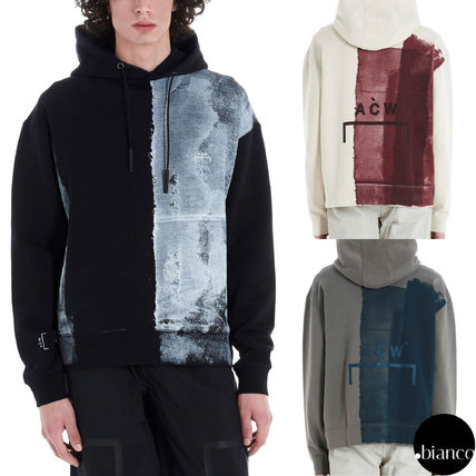 Pullovers Sweat Street Style Long Sleeves Cotton