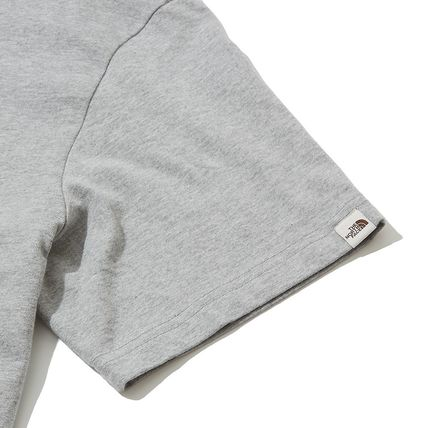 THE NORTH FACE Crew Neck Crew Neck Pullovers Unisex Street Style Plain Cotton 4