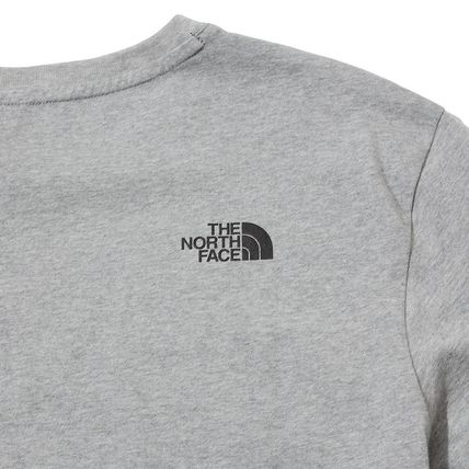 THE NORTH FACE Crew Neck Crew Neck Pullovers Unisex Street Style Plain Cotton 5